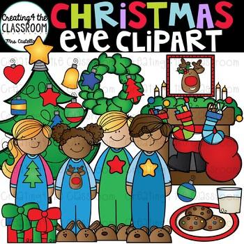 Christmas Eve Clip Art {Christmas Clip Art}