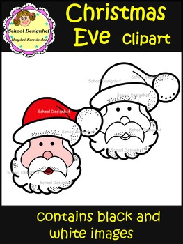 Christmas Eve Clip Art (School Designhcf)