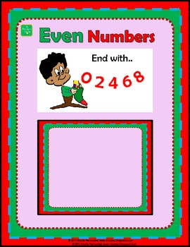 Even and Odd Number Sorting Activity