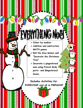Christmas-Everything Noel!  Lots of Activities and Games i