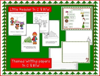Christmas Song: Is It Christmas Yet?  Shared Reading Singable