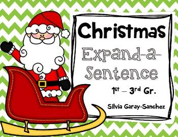 Christmas Expand-a-Sentence