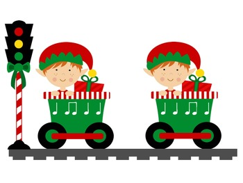 Christmas Express - A Rhythmic Game for Practicing Ta and Ti-ti