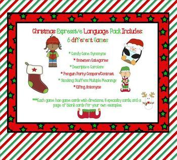 Christmas Expressive Language Pack