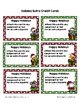 Christmas Extra Credit Cards