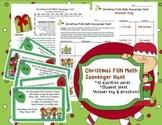 Christmas FUN Math Scavenger Hunt