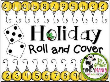 Christmas FUN Pack Sample Freebie {Roll and Cover}