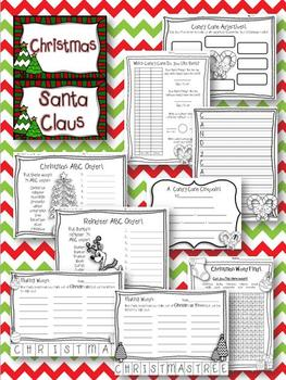 Christmas FUN! {Printables & 4 Craftivities}