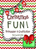 Christmas FUN! {Printables & 4 Craftivities}