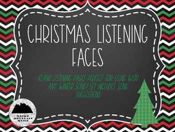 Christmas Faces Listening Guide