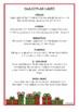Christmas Fact Cards
