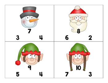 Christmas Fact Families *Freebie*