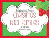 Christmas Fact Families (Multiplication and Division)