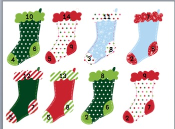 Christmas Fact Families (addition and subtraction facts 1-18)