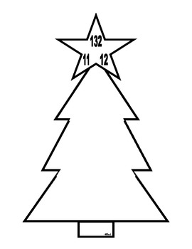 Christmas Fact Family Trees Multiplication and Division