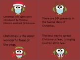 Christmas Fact and Opinion Card Sort