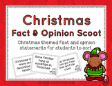 Christmas Fact and Opinion Scoot