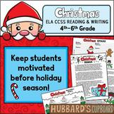 Winter Holidays - Christmas Activities / Christmas Writing CCSS Aligned