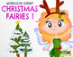 Christmas Fairies 1 Clipart | Instant Download Vector Art | Commercial Use