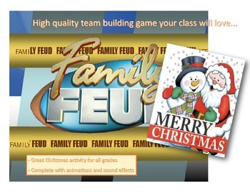 christmas family feud ppt game