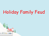 Christmas Family Feud Smartboard Activity