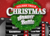 Christmas / Holiday Game Answer Battle Trivia Family Powerpoint Mac PC iPad
