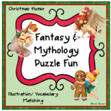 Christmas Fantasy & Mythology Vocabulary Puzzles