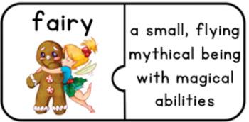 Christmas Fantasy & Mythology Vocabulary Puzzles