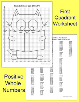 Graphing Ordered Pairs All Year Bundle Valentines Day Winter Math