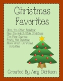 Christmas Favorites: Literacy and Math Activities