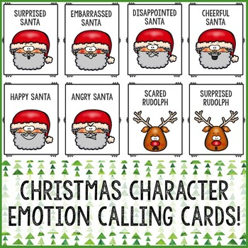 Christmas Feelings Bingo Game - Emotions - Elementary School Counseling
