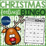 Christmas Feelings Bingo Counseling Game for Emotion Identification