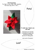 Christmas Felt Poinsettia