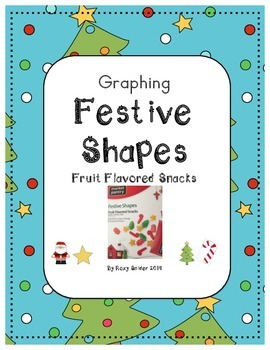 Christmas Festive Shapes Graphing