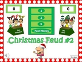 Christmas Feud Powerpoint Game #2