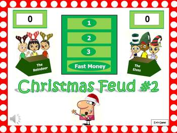 christmas feud powerpoint game #2fun's not just for elementary, Powerpoint templates