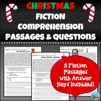 Christmas Fiction Comprehension Passages