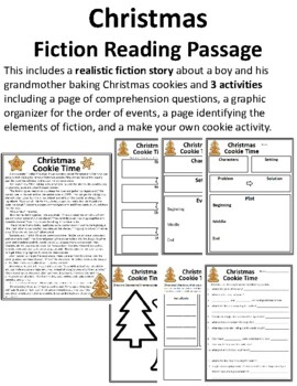 Christmas Fiction Reading Passage Christmas Fiction Passages Christmas Story