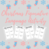 Christmas Figurative Language Activity