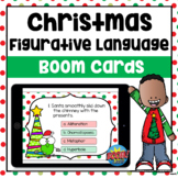 Figurative Language Christmas Boom Cards | Distance Learning