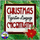 Christmas Figurative Language Memory Game PowerPoint