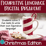 Christmas Figurative Language Digital Breakout