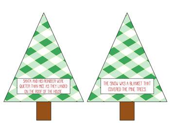 Christmas Figurative Language Matching Game