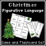 Christmas Bingo Cards Christmas Figurative Language Activity