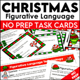 Christmas Figurative Language Task Cards