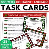 Christmas Activity Figurative Language Task Cards
