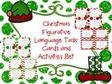Christmas Figurative Language Task Cards Sort Activities