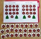 Christmas File Folder Game:  Ornaments Letters Match