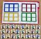 Christmas File Folder Game:  Silly Santas Color Sort