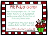 Christmas Color Matching- File Folder Games